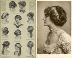 hairstyles from 1900 s collections of short victorian hairstyles shoulder length