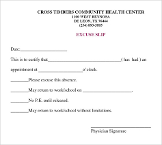 return to work note 8 doctor note templates free sample