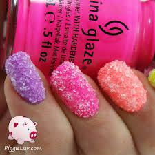 piggieluv neon sugar crush nails