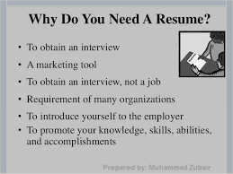 Who To Write A Resume How To Write A Successful Resume By Muhammad Zubair