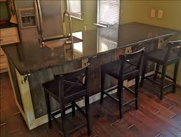 Kitchen Island Granite Countertop Barn Wood Kitchen Island With Ikea Cabinets And Uba Tuba Granite