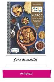 livre de cuisine marocaine easy maroc paprikas un livre de recettes fait avec le