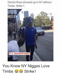 Derrick Rose Jersey Meme - derrick rose showed up in ny without timbs strike 1 ig
