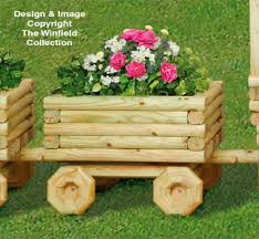 planter woodworking plans landscape timber train car planter pattern