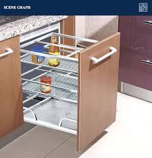 Kitchen Cabinets Baskets | modern stainless steel kitchen drawer basket 201 buy kitchen