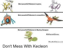 Pokemon Game Memes - most powerfull pokemon in game most powerfull pokemon in competitive