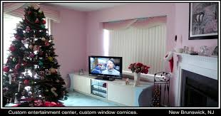 Nj Home Design Studio Contemporary Window Treatments Custom Cornices Modern Window