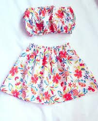 luau dress hawaiian tropical pineapple for girls
