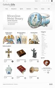 catholic shop online website templates store gifts presents talks custom