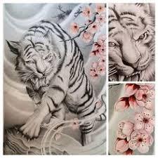 tiger cherry blossom waves ideas cherry