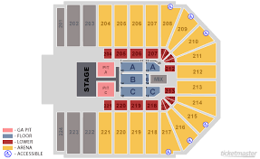 Ticketmaster Floor Plan Wright State University Nutter Center Dayton Tickets Schedule