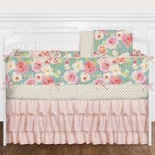 floral crib sets u0026 baby bedding
