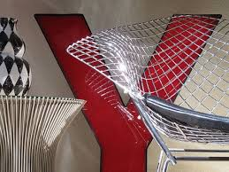 man of steel mesh harry bertoia u0027s famous chairs apartment therapy