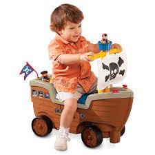 pirate ship kids toy play u0027n scoot pirate ship little tikes