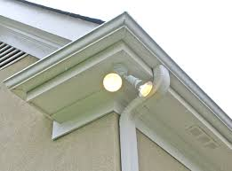 Lights In Soffit Outside by How To Install A Floodlight