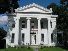 greek revival style house historic buildings of connecticut blog archive the john