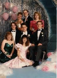 Eighties Prom Each Of These People Right Before The Biggest Night Of Their
