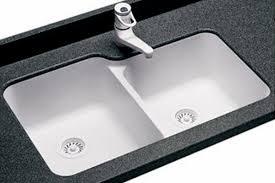 Choosing A Kitchen Sink Youll Love  Homeagination - Enamel kitchen sink