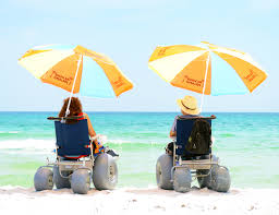 Kids Beach Chair With Umbrella Beach Wheelchairs More Available Than Ever New Mobility