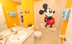 Kids Bathroom Shower Curtain Bathroom Ideas Disney Kids Bathroom Sets With Mickey Mouse Shower