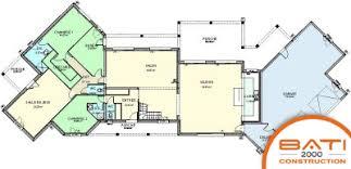 plan maison plain pied 5 chambres plan maison 5 chambres avec etage