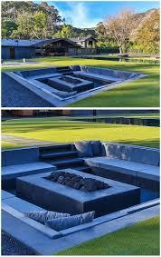 Fire Pits San Diego by Backyards Appealing Backyard Design Idea Create A Sunken Fire