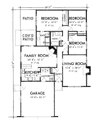 ranch house plan first floor 072d 1005 house plans and more one
