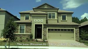 the retreat at championsgate floor plans with sample home exterior