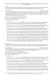 resume objective exles for accounting manager resume sle accounting manager resume