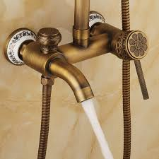 Bathtub Faucet Shower Attachment Aliexpress Com Buy Newly Vintage Shower Set Faucet Shower Mixer