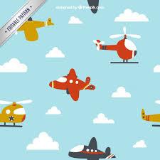 imagenes animadas de aviones avión de dibujos animados volando para diseño de niños descargar