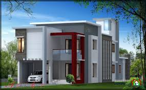New Contemporary Home Designs In Kerala Modern Contemporary Kerala House Plans
