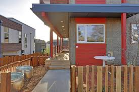queen anne modern row homes dwell development