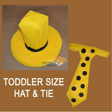 Curious George Costume Hat U0026 Tie Man With The Yellow Hat Curious George Costume Theater