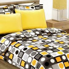 Grey And Yellow Comforters Black And Yellow Bedding Black Yellow Bedding Promotion For