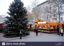 luxembourg luxembourg city place d u0027armes christmas market stock