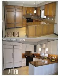painting kitchen cabinets mississauga kitchen refinishing masters wood finishing