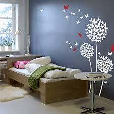 amazon com vinyl butterflies wall decal butterflies flower quote
