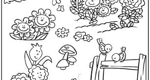 garden scene coloring garden scene coloring coloring pages