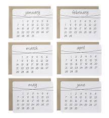 the diy calendar cards dalla nonna llc