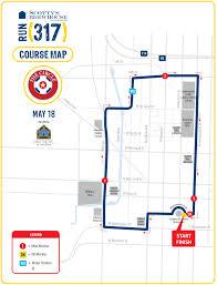 Run Map The Circle Run 317