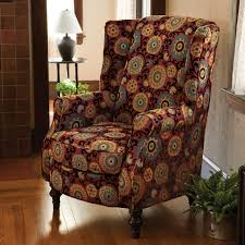 Wingback Chairs Design Ideas Chairs Furniture Light Blue Wingback Chairs Design For Your