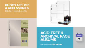 best archival photo albums acid free archival page albums photo albums accessories best