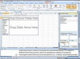 create a report as a table in excel pivot table reports dvi quarterly sales by salesperson by country