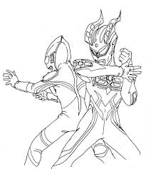 ultraman coloring pages getcoloringpages