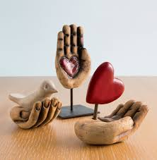 Home Sculptures Hand Sculptures By Cathy Broski Ceramic Sculpture Artful Home