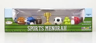 sports menorah painted sports menorah yourholylandstore
