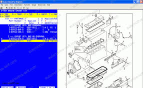 isuzu industrial engine proquest electronic spare parts catalog