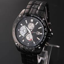 curren luxury brand steel watches mens sports watch mens quartz