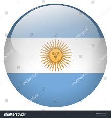 argentina flag button stock illustration 128190761 shutterstock
